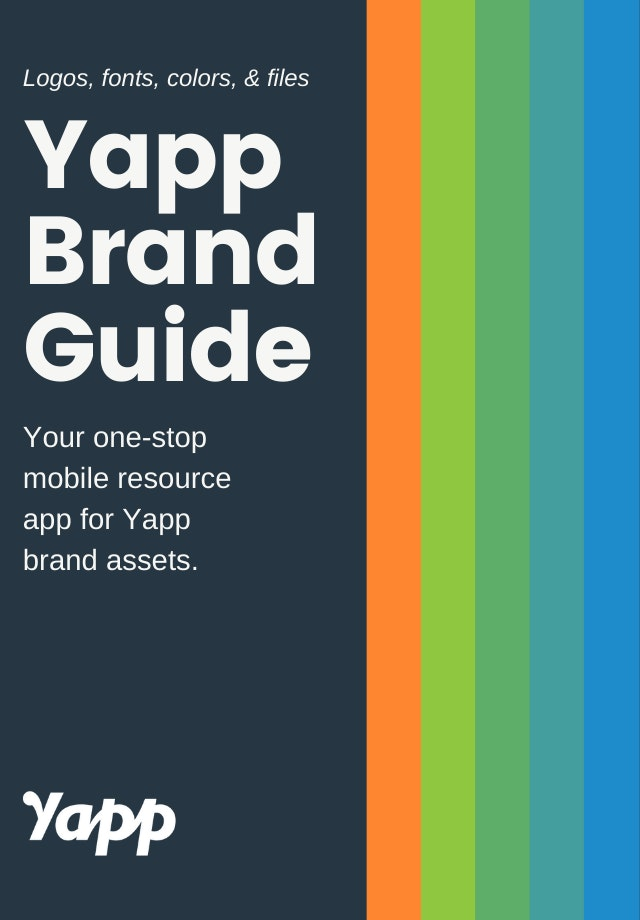 BRANDGUIDE cover image - Yapp