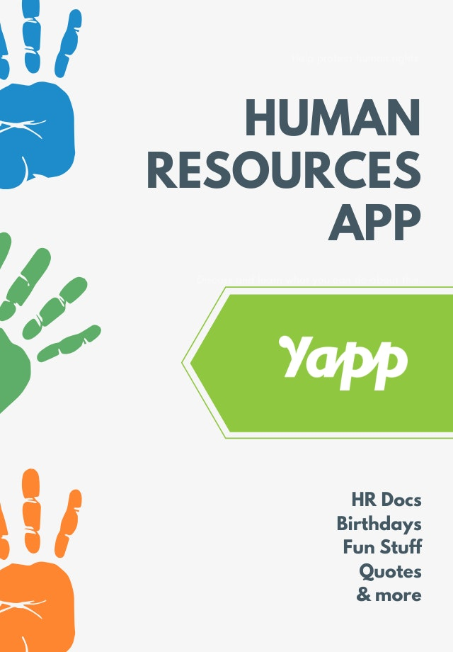 HUMANS cover image - Yapp
