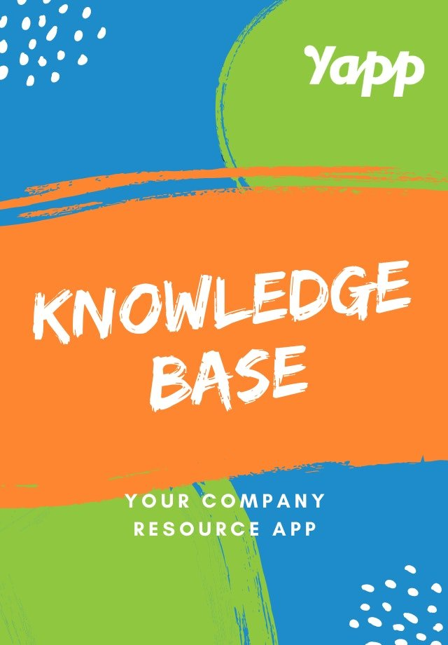 KNOWLEDGE cover image - Yapp