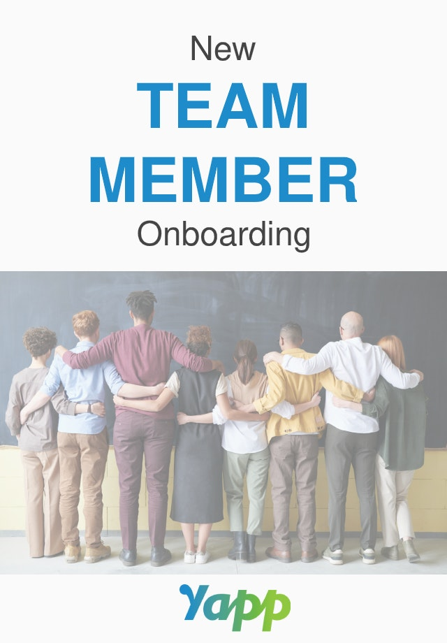 ONBOARDING cover image - Yapp
